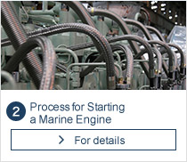 Process for Starting a Marine Engine
